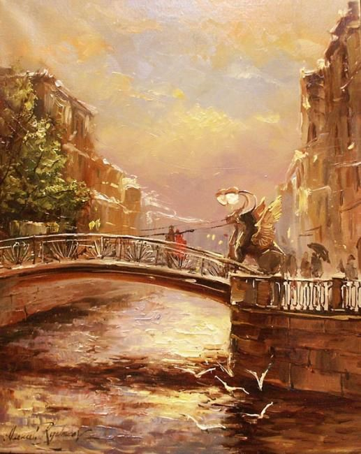 Fine Art and You: Alexey Rychkov | Russian Impressionist Painter | 1968