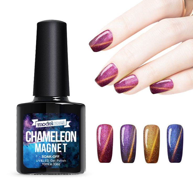 Modelones 1Pcs 10ml UV Chameleon Gel Nail 3D Magnetic Cat Eye Soak Off UV Gel Polish Glitter Varnish 12 Color for choose-in Nail Gel from Health & Beauty on Aliexpress.com | Alibaba Group