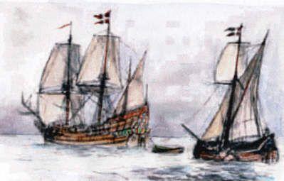 Med begge disse fartøjer forsøgte Jens Munk 1619-1620 at nå til Indien ved at forsøge at finde en vej nord om Canada. En ekspedition der endte i en katastrofe. afAxel Nelson Enhjørningen var et dansk orlogsfartøj med 18 stk. 12 pund kanoner og tre master. Det blev bygget i 1605 og forlængedes 1614. Det blev …