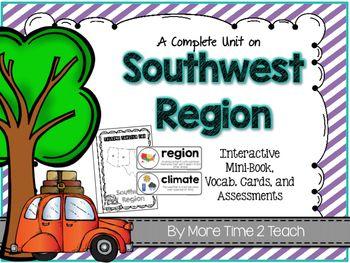 Southwest Region Unit 1 Of 5 Us Regions