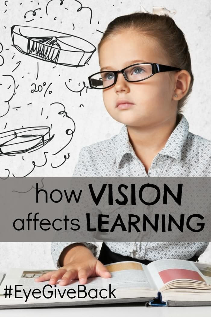 How vision affects learning, a great read for moms with kids who are having trouble focusing in school. #EyeGiveBack