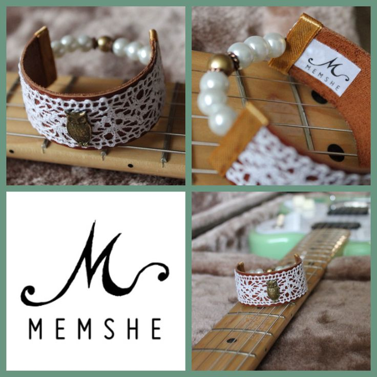 Memshe bracelet, exclusive (leather) collection