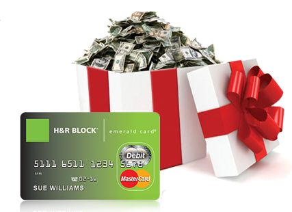 $300 MasterCard Gift Card From H Block's Emerald Advance #HRBlockLoan Ends 11/28