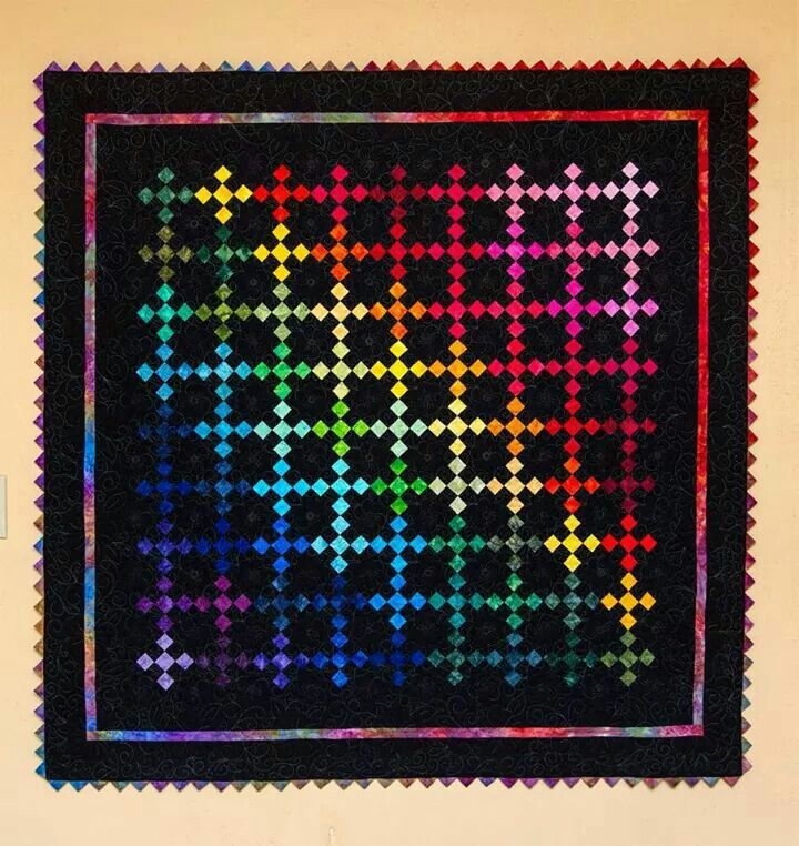 May be a Double Irish Chain | Single Irish Chain Quilts | Pinterest | Irish chain quilt and Craft