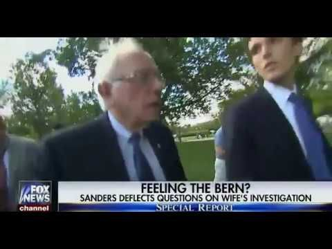 WATCH: Bank Fraud Bernie Dodges Questions Over FBI Investigation | The Sean Hannity Show