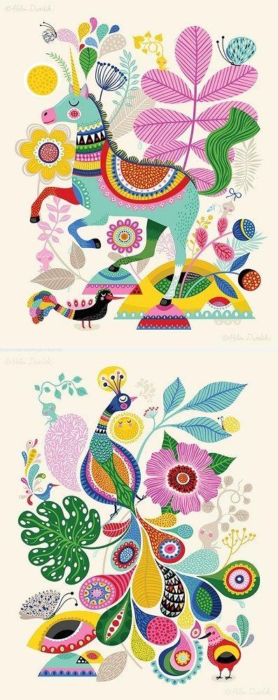 Illustrations by Helen Dardik / On the blog!