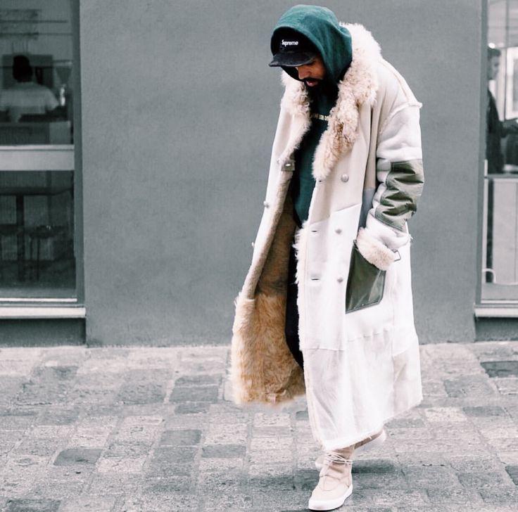 Men's Fur coats: NewKissOnTheBlog | Men's Street Style
