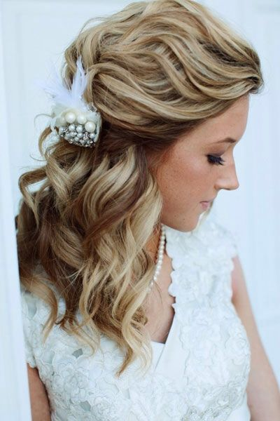 10 best Hair ups and wedding hair images on Pinterest   Bridal ...