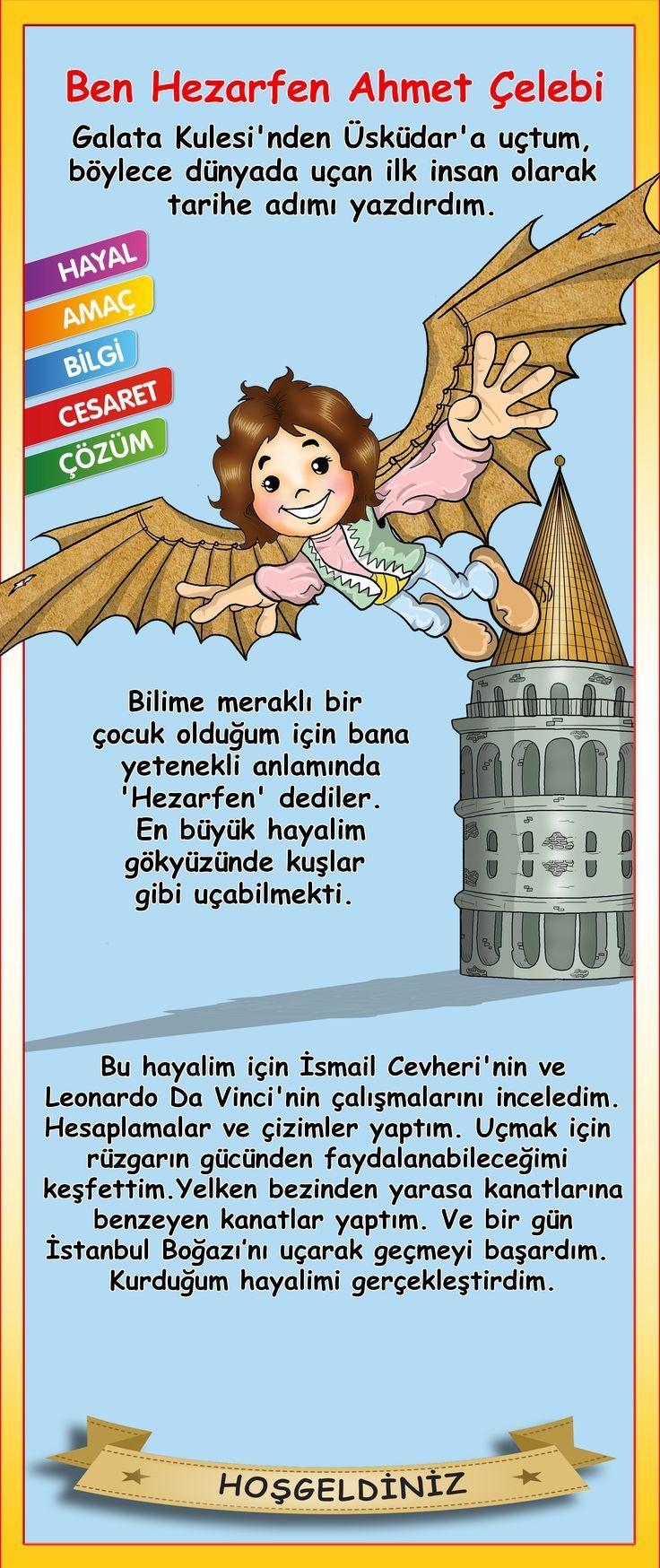 Hezarfen Ahmet Çelebi [] #