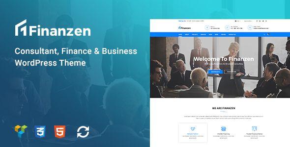 Finanzen Consultant Finance Business Wordpress Theme By