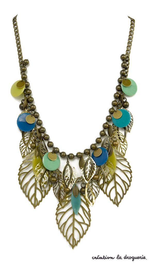 Oh le joli collier printanier !! #ladroguerie #collier #bijoux