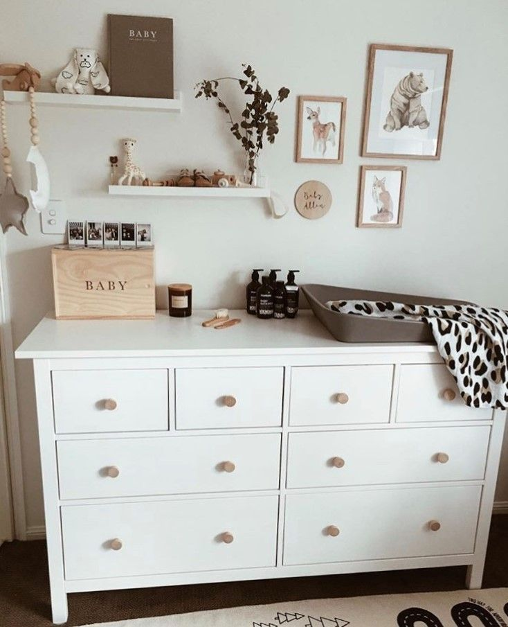 No nursery is complete without a Sophie! Love this one on the shelf