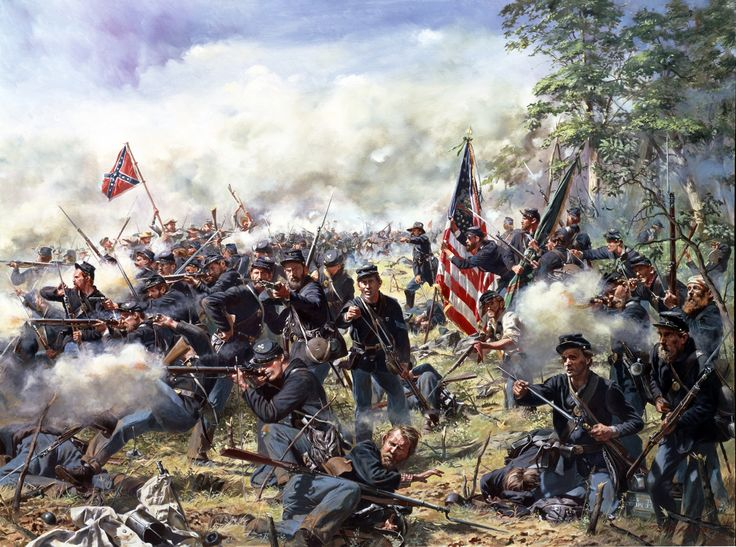 """""""Rock of Erin"""" The 69th Pennsylvania Regiment at the Battle of Gettysburg, July 3, 1863 (1500×1115)"""