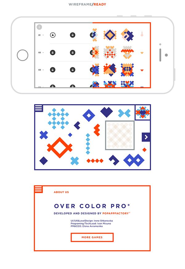 Overcolor Pro app on Behance