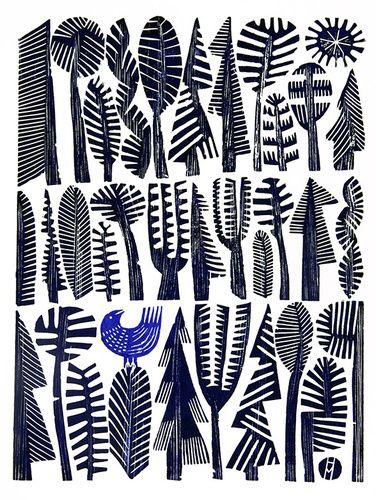 Blue Bird by Hilke MacIntyre