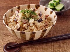 「焼きさんまの炊き込みご飯」の料理レシピ/完成イメージ