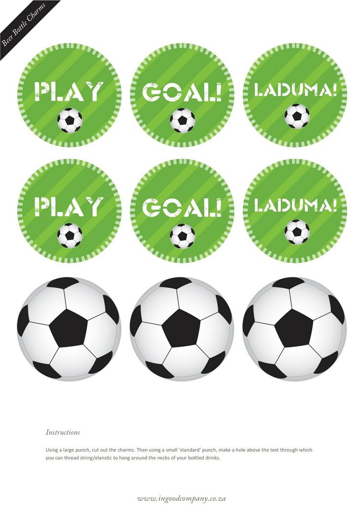 Kara's Party Ideas World Cup Soccer Party {with FREE downloads!} - Kara's Party Ideas - The Place for All Things Party
