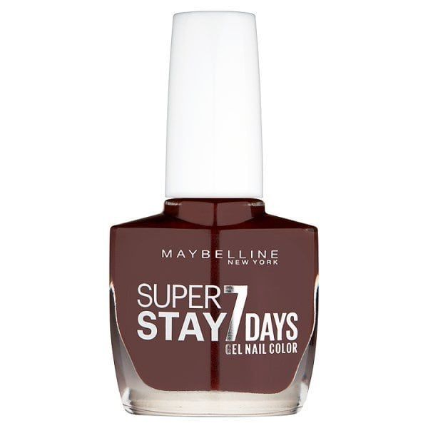 Maybelline Superstay City Brown Nail Polish 889 Dark Roast Superdrug Brown Nail Polish Brown Nails Maybelline Super Stay