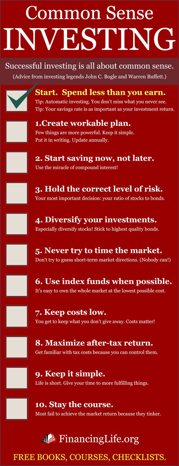 Ten simple rules to finance your dreams. Advice from investing legends John C. Bogle and Warren Buffett. Click to learn more.