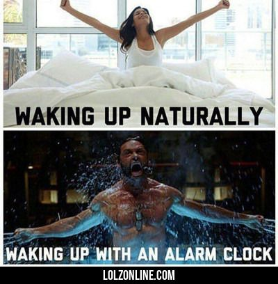 Waking Up Naturally... #lol