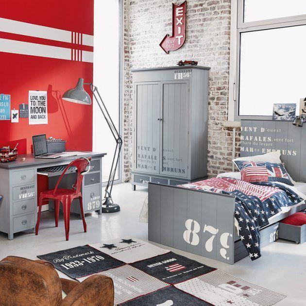 Best 25 chambre ado gar on ideas on pinterest chambre - Chambre garcon ado ...