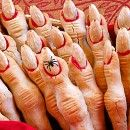 Witch Fingers- This just look really creepy. What a great party treat.