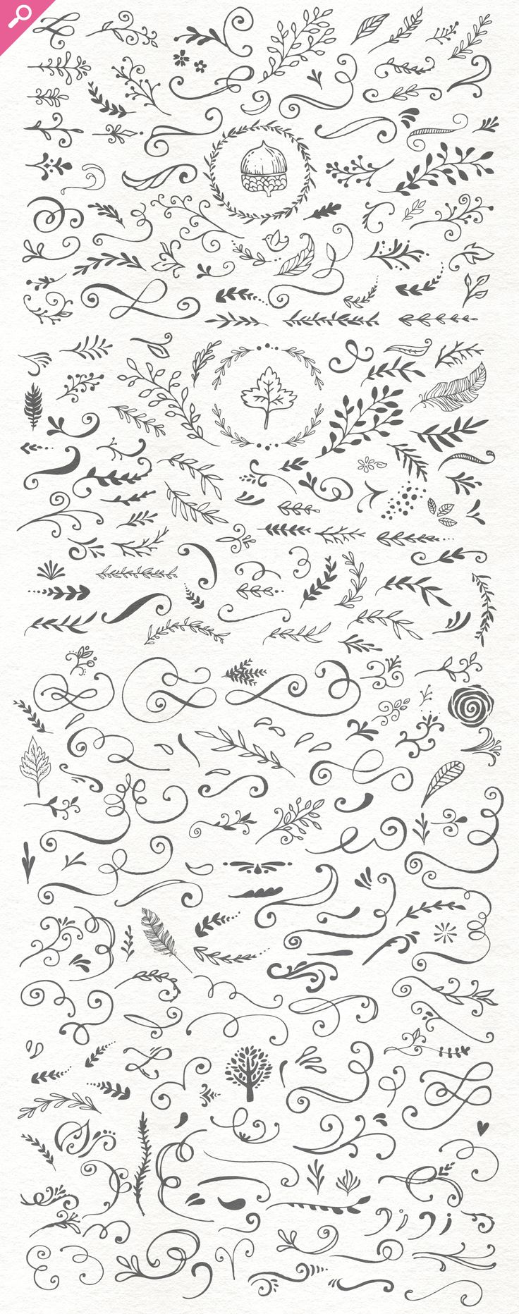 The Handsketched Designers Kit - Illustrations  #doodles