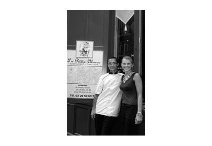 Chef Damien -cuisine à domicile - Delarue Julie - Montréal - Restaurant La Petite Alsace - Lille