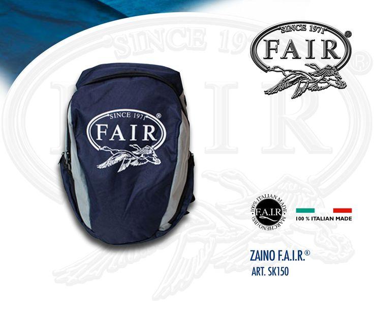 Lo zaino F.A.I.R.® è disponibile online su F.A.I.R.-STORE®, acquista ora qui www.fair-store.com  FAIR® backpack is available online at F.A.I.R.- STORE®, buy it now here www.fair-store.com