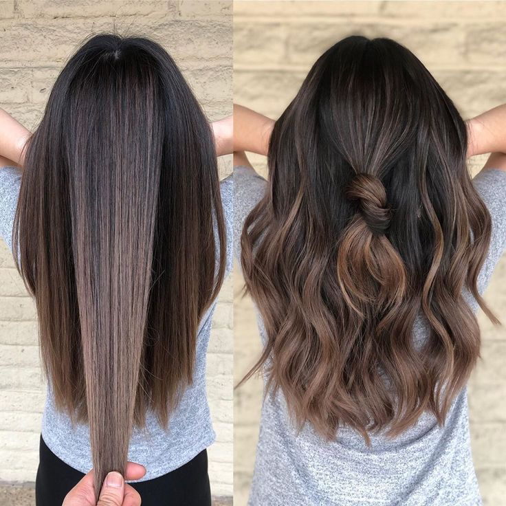 """Los Angeles Hairstylist/color on Instagram: """"0-10 How much do you like Mauve b... - Ombre hair color for brunettes - #Angeles #Brunettes #color #Hair #Hairstylistcolor #Instagram #los #Mauve #Ombre #Ombrehaircolorforbrunettes"""