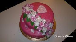 Susannes Bakhörna: Välkommen till min blogg! Detta är ett litet urval av min Tårtkonst!