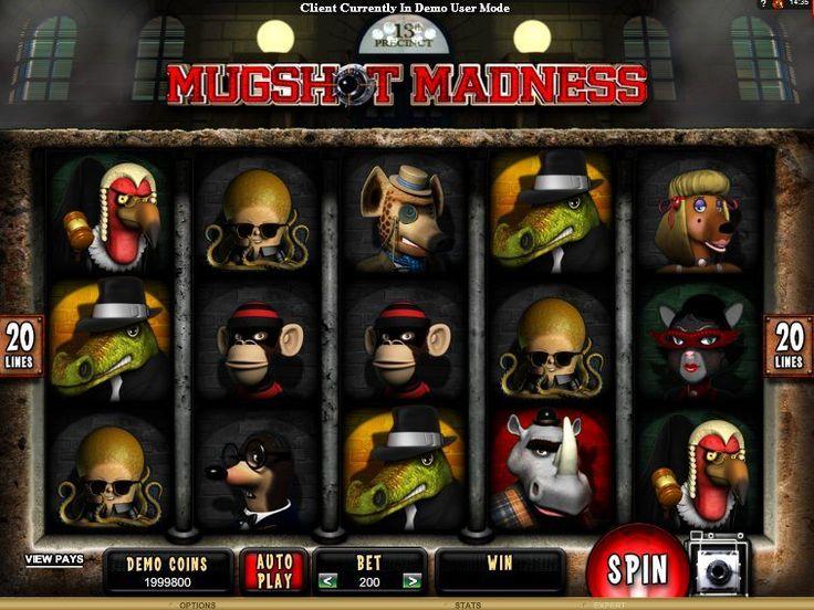 Jogue online grátis Jogo de slot Mugshot Madness - http://cacaniqueis77.com/mugshot-madness/ - http://cacaniqueis77.com