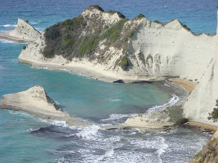 Cape Fonias at the northwest tip of Corfu island