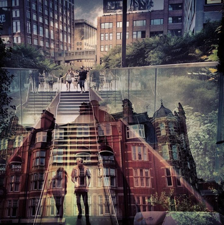 New York and London A Fantastic Collection Of Double Exposures | SmokingDesigners