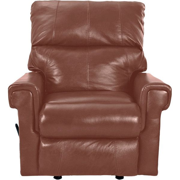 rivera fauxleather recliner 897 liked on polyvore featuring home furniture swivel rocker - Swivel Rocker Chair