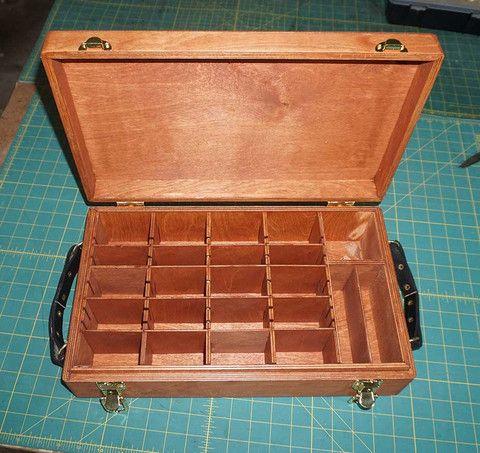 Custom Cube deck box MTG deck box Magic deck box commander deck box – Fox and Dragon