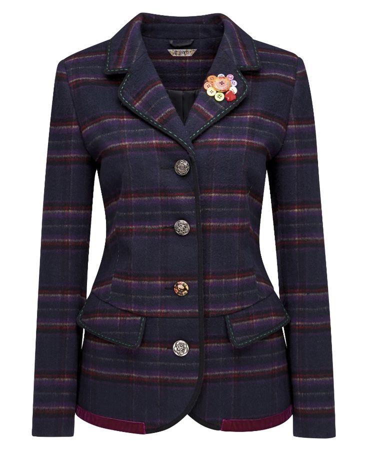 Joe Browns Royal Check Jacket http://www.amazon.co.uk/Joe-Browns-Womens-Sleeved-Blazer/dp/B00N7A3U9I