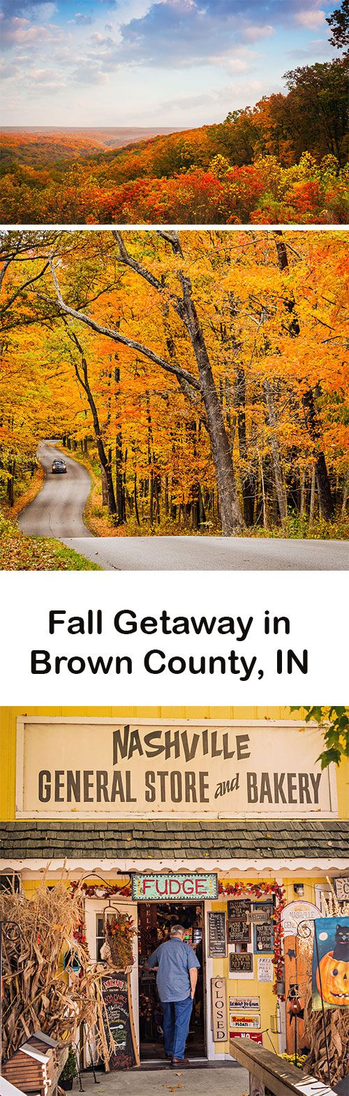 Just one hour from downtown Indianapolis, Brown County's fall show continues to captivate visitors more than a century after artists first fell under its spell. Read about our fall getaway: