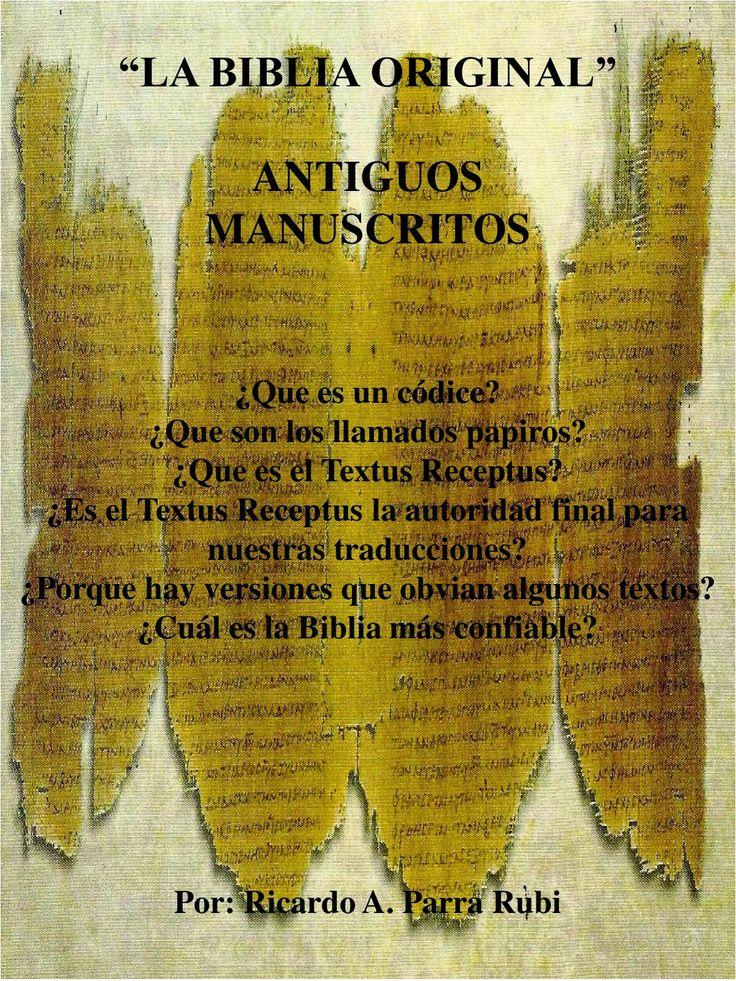 LA BIBLIA CÓDICE Y PAPIROS