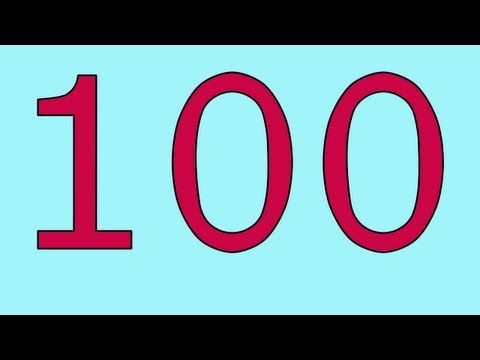 Calming number song to 100.   Kinders love when the numbers bigger than 100 at the end.