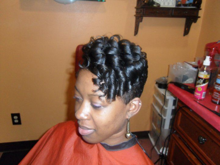 35 Best Images About BLACK HAIR STYLES AND BLACK
