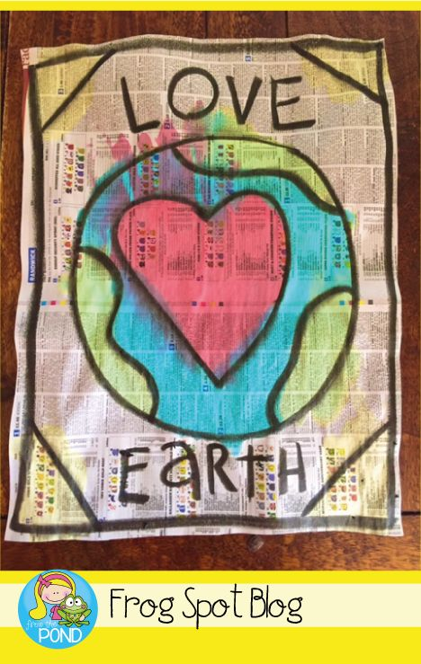 Earth Day Art Project