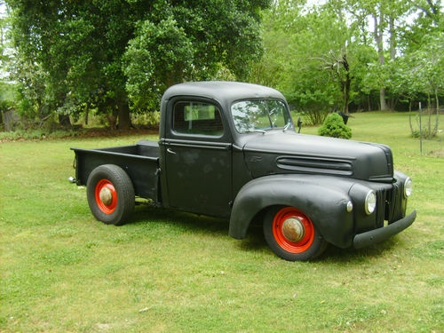 "1947 Ford Pickup Rat Rod, very nice. A little ""rattier"" would be nice."