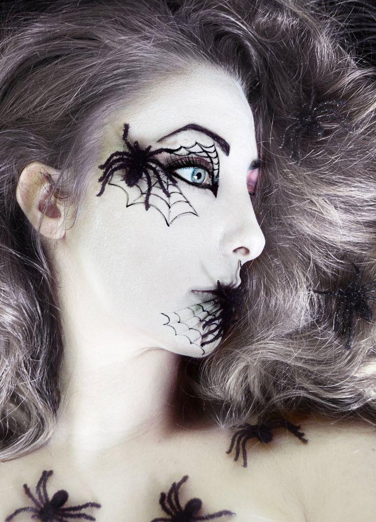 spider-queen-halloween-makeup