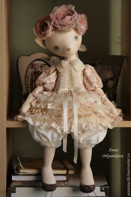 Cat Alice. Dolls. Anna Orlyanikova.