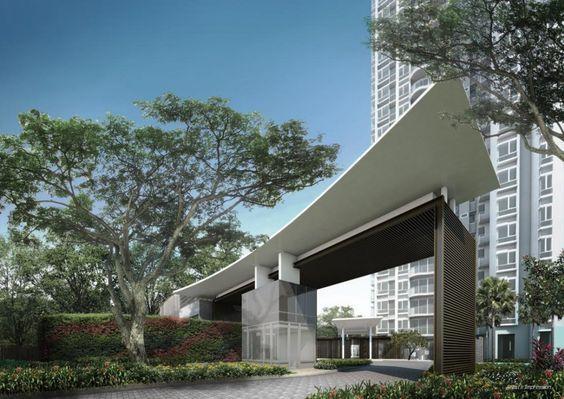 entrance guardhouse condominium - Google Search:
