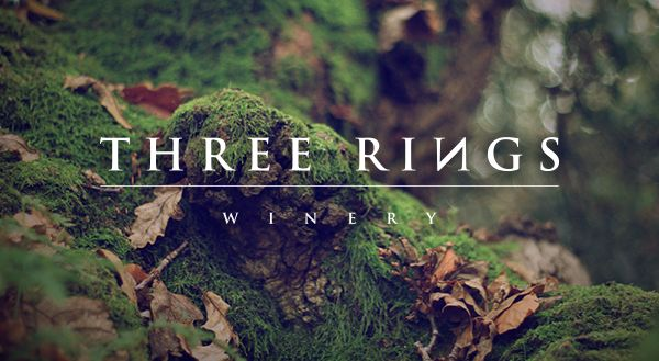Three Rings Winery by Andrew Kuypers, via Behance