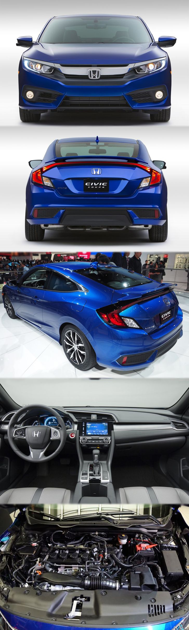 #Honda #Civic #Coupe 2017! Will it be coming to the #UK? For more information visit link: http://www.enginecompare.co.uk/blog/category/honda/