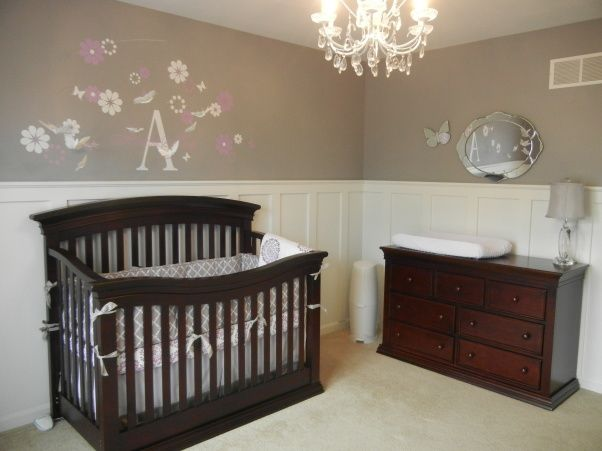 grey nursery ideas | Amelia's gray & lilac nursery - Nursery Designs - Decorating Ideas ...