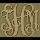 southern proper monograms: Monograms 18, Weddings Gifts, Woods Great, Southern Proper Monograms, Presents Idea, Front Doors, Wooden Monograms, Unfinished Woods, Gifts Idea